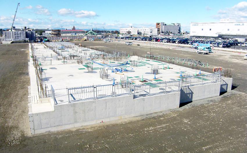 新川西部流域下水道事業 水処理施設築造工事(その1)