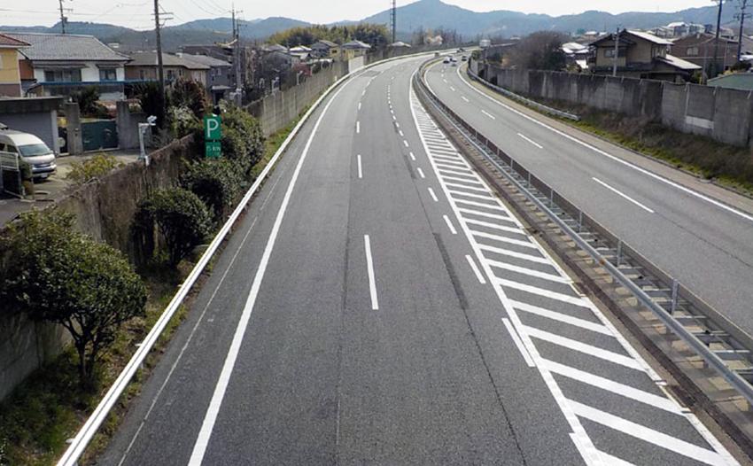 中央自動車道 多治見管内舗装補修工事