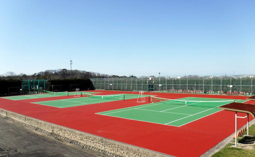 公園緑地整備交付金事業費 テニスコ-ト舗装更新工事
