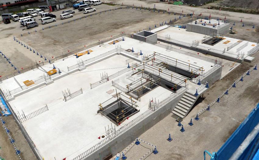 新川西部流域下水道事業 ポンプ棟築造工事